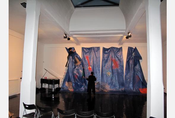 Coreografia D'Arte 2012,Allestimento Andrea Gallo Rosso, Lucio Perna
