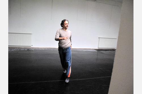 Coreografia D'Arte 2012,Prove compagnia NUT,Gioni David Parra, Franco Reffo