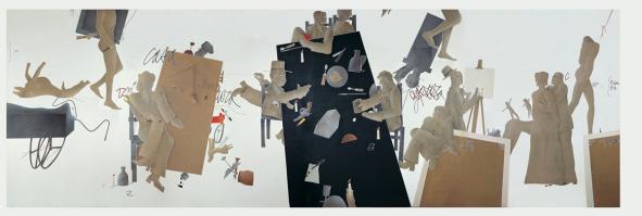 L'occhio della pittura di Emilio Tadini, Coreografia d'Arte III°edizione, Festival di coreografia, arte, teatrodanza